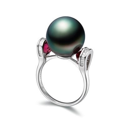 18K金钻石戒指