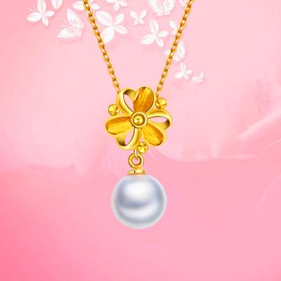 18K金珍珠项链